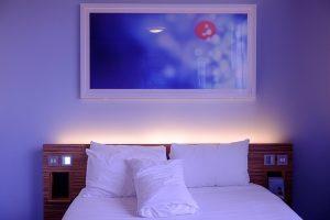 eclairage de la chambre