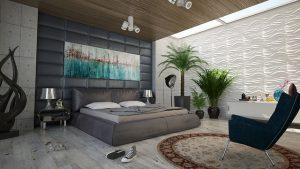 lit pour amenager chambre