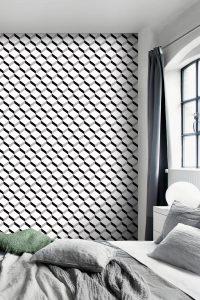 habiller papier peint mur chambre