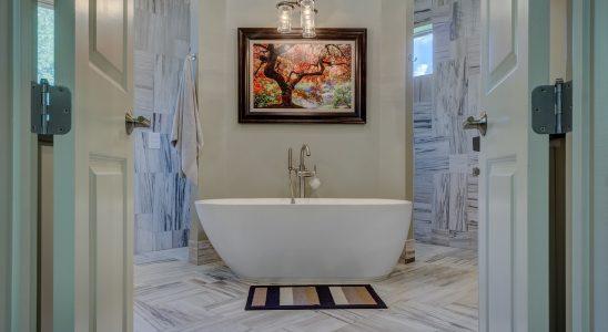 Peinture carrelage sol salle de bain